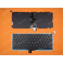Teclado Macbook Pro A1278 13 Mb467 Mc374 Ingles Backlit Nuev