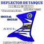 Aleta Tanque Nafta Derecha Azul Yamaha Xtz125 Orig 14/15 Fas