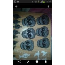 Calaveras Piratas Del Caribe Porcelana Fria