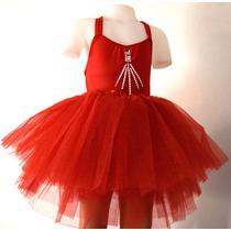 Malla Danza Ballet Tiritas Dobles Espalda Cruzada Colores