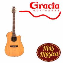 Gracia 130 Eq Guitarra Electro Acustica Eq Plug-afinador