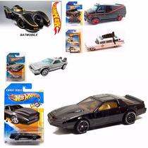 Hot Wheels A Team Cazafantasmas Kitt Batimovil Volver Futuro