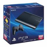 Playstation 3 Ps3 + 4 Juegos Fisicos, Nueva Y Con Garantia
