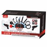 Playstation 3 Move Combat Pack + Sport Packs 22 En 1 Pega