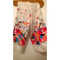 Pantalon Chiripa Capri Mujer Con Tela Miró