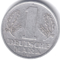Alemania Comunista 1 Deutsche Mark 1956 A Excelente!!