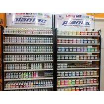 Pintura Para Tela Plantec X 40 Ml X 10 Colores