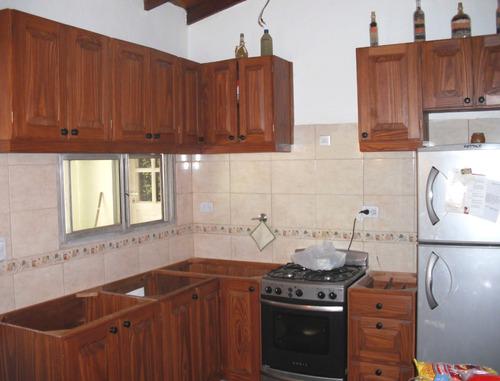 Muebles de cocina alacenas de pino a medida madera a - Muebles de madera a medida ...