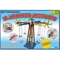 El Mecanico Argentino T/mecano Para Armar De Metal 2 Motores