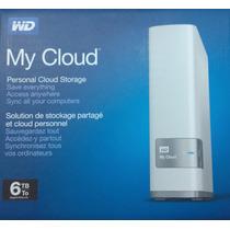 Wd My Cloud 6 Tb Disco Externo De Red Tipo Nas Wifi Nube