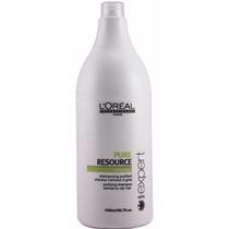 Shampoo Loreal Pure Resource Cabello Graso Normal X 1500ml