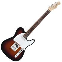 Guitarra Elec Squier Telecaster Affinity - Brown Sunburst