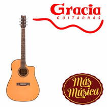 Gracia 115 Tvd Guitarra Acustica Tono Y Volumen Deslizable