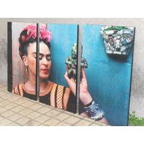 2 Tripticos De Frida Kahlo - Modernos & Originales -