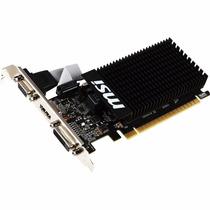 Placa De Video Msi Gt 710 2gb Ddr3 Vga Geforce Gamer Jfc