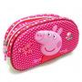 Peppa Pig Cartuchera Necesser 2 Cierres Original
