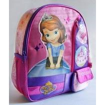 Mochila Escolar Espalda Licencia Princesa Sofia 12 Pulgadas