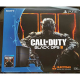 Playstation 4 500gb 1215a + Call Of Duty Black Ops 3