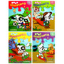 Doki 4 Libros Para Pintar Colección Doki Incluye Stickers