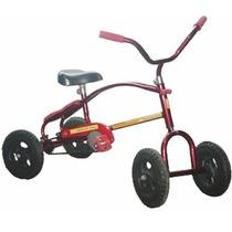 Cuatriciclo Infantil A Pedal Antivuelco Con Ruedas Metal Ys