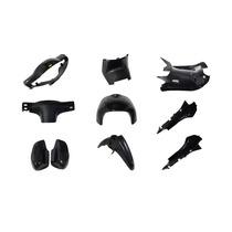Kit Plasticos Smash/otras 110 10 Piezas Negro Pintados