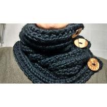 Cuellos Tejidos 2 Agujas. La Crocheta!