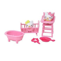 Hello Kitty Mini Sets En Blister - 2 Muñecas Con Accesorios