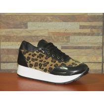Zapatillas Sneakers Con Plataforma :: Envios Al Interior