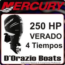 Motor Fuera De Borda Mercury Verado 250 Hp 4 Tiempos Turbo