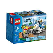 Lego City Crook Pursuit Moto Policia Ladron 60041 Giro Didác