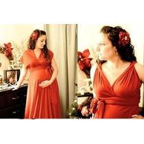 Vestido Embaraza En Seda Fria, Jean Camisa Enterito Remera