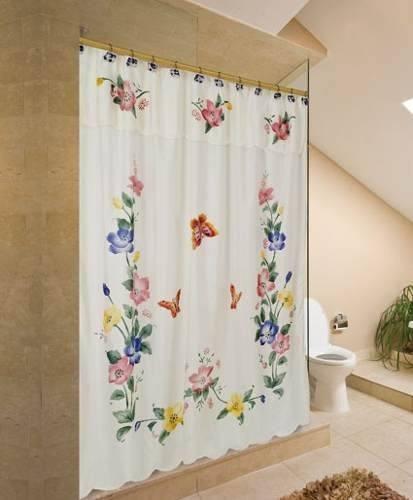 Cortinas De Baño De Tela:Cortinas de baño de tela – Imagui