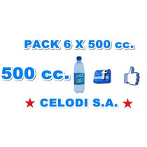 Agua Mineral Pack 6 X 500 Cm3 Distribuidor Mayorista Bebidas