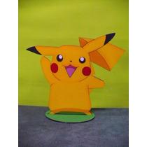 Pikachu Adorno Torta Centros De Mesa