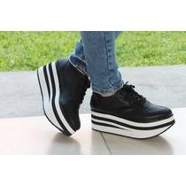 Zapatillas Sneakers Plataforma Urbanas Altas Moda Mujer 2015