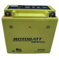 Bateria Con Gel 12n9-4b-1 Motobatt Mtx9 En Freeway Motos!!