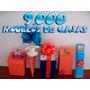 Todo Cajas - 9000 Moldes - Bolsas Cotillon Souvenirs