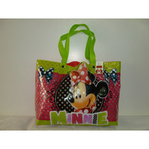 Bolso Playero Minnie Original - Mundo Team