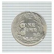 Estados Unidos 1 Dime 1900 Plata