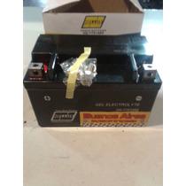 Bateria Gel Hellux Ytx7abs Zanella Ztt 200 6 Meses Garantia