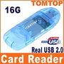 Mini Lector Tarjeta Memoria Micro Sd T-flash Usb 2.0 Mmc Rs