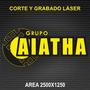 Corte Y Grabado Láser Área 2500x1250, Router Cnc 2700x1000
