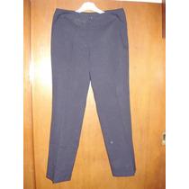 Pantalón De Uniforme De Oficina Azul Talle 48