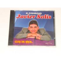 Javier Solis Cosas Del Amor Cd Nuevo Sellado