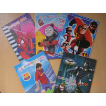 Libro Colorear + Stickers Spiderman Cars Kitty Donaciones