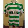 Camiseta Fútbol Celtic Escocia Umbro 2000 2001 Larsson #7 Xl