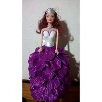 4d6906cb138 Muñeca Para Centro De Mesa Para Fiesta  Vestida Con Gomaeva en venta ...