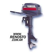 Motores Yamaha 8hp 2 Tiempos Pata Larga Renosto