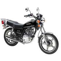 Moto Suzuki Gn 125 H Cc Calle Custom Full Casco Regalo Eco