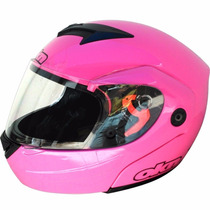 Casco Okn 1.rebatible. Homologado.color Rosa.talle: M, L ,xl